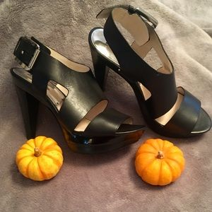❤️ Michael Kors NIB Black Platform Shoes 8-1:2